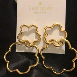 Kate Spade Shine On Hoop Earrings NWT